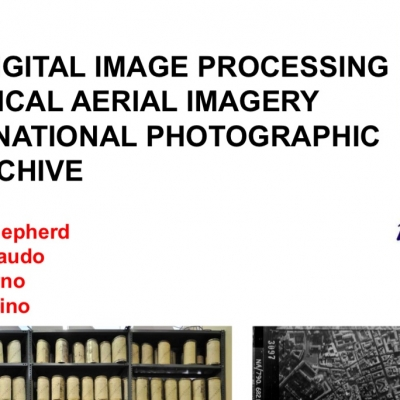 L'Aerofototeca Nazionale all'EuroSDR workshop di Parigi - GEOPROCESSING AND ARCHIVING OF HISTORICAL AERIAL IMAGES