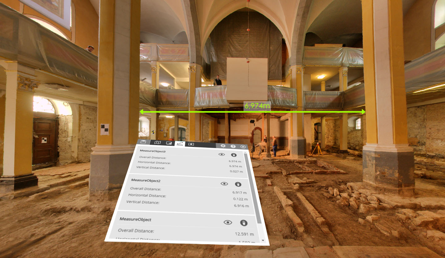 CAM2 SCENE 7.1 VR Dialog and Measurement Herder Church