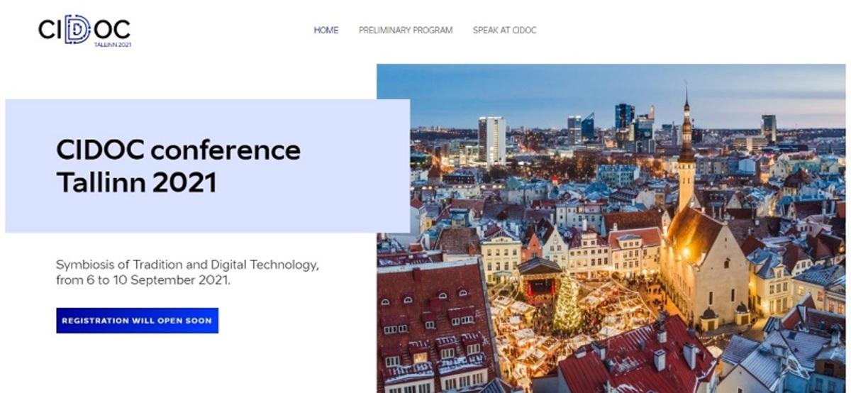CIDOC 2021: Symbiosis of Tradition and Digital Technology  |Eventi - Archeomatica