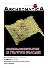 Cover Archeomatica 4 2013 archive