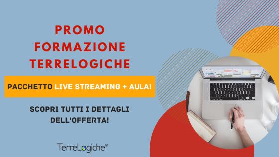 Promo Corsi Live Streaming TerreLogiche