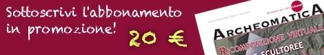 banner archeomatica promo abbonamento