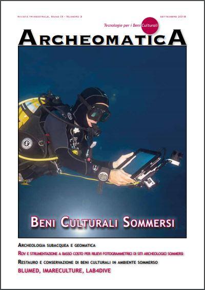 copertina archeomatica 3 2018