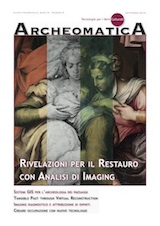 Cover Archeomatica 3 2013 Archive
