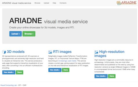ariadne-visual-media-service