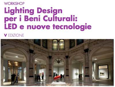 lighting design beni culturali