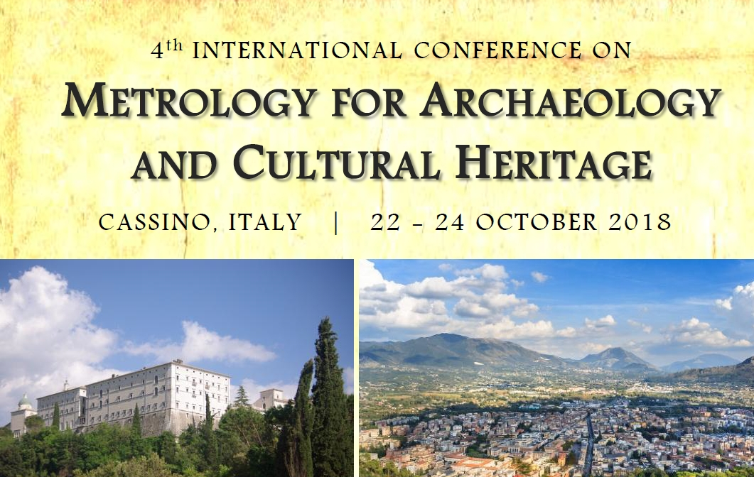MetroArchaeo - A Conference on Metrology for Archaeology and Cultural Heritage