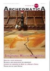 Cover Archeomatica 1 2013 160x226